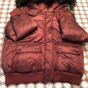 Abercrombie & Fitch Hooded Puffer Jacket